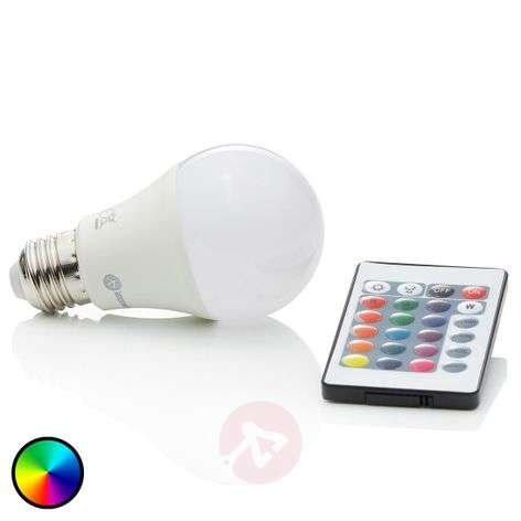 LED lamp RGBW E27 7 W, 500 lumen