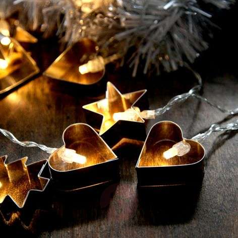 LED-lichtketting Gingerbread
