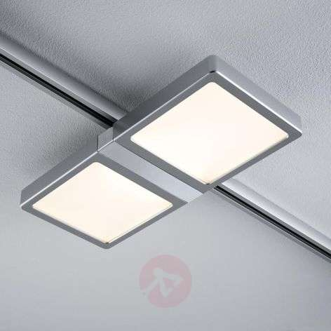 LED paneel Double voor U-Rail chroom mat