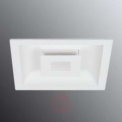 LED plafond inbouwlamp Eclipse m. 2 LED's vierkant