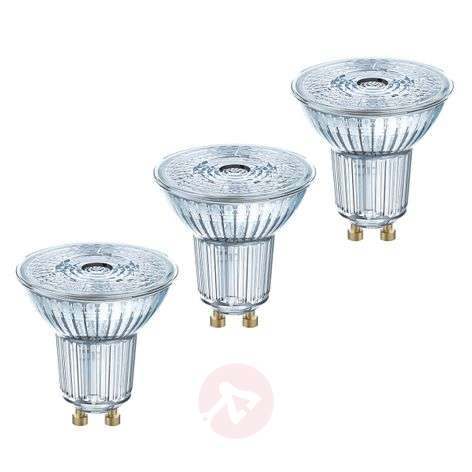 LED reflectorlamp GU10 4,3W, 350 lumen, set van 3