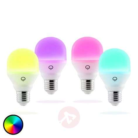 LIFX Mini Color LED lamp E27 9W, 4 stuks set
