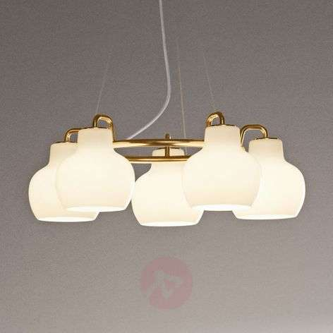 Louis Poulsen hanglamp VL Ring Crown 5-lamps