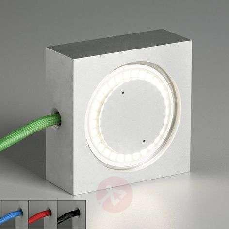 Multifunctionele lamp Square m LED, en gekl. snoer