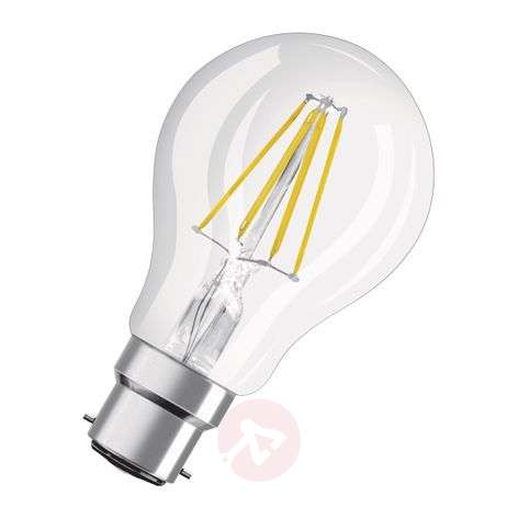 OSRAM LED lamp B22d Superstar Fil. 827 7,5W dim