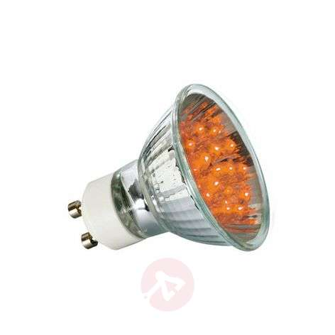 Paulmann GU10 LED-reflectorlamp 1W, oranje