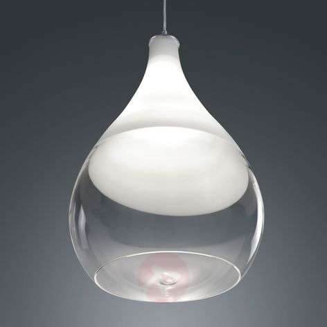Pendellamp Kingston met glaskap-9005162-31