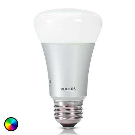 Philips Hue-lamp White + Color Ambiance E27 10W