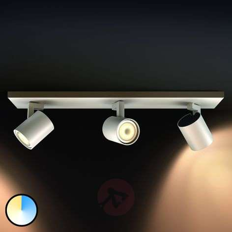 Philips Hue Runner 3-lamps spot wit, dimschakelaar