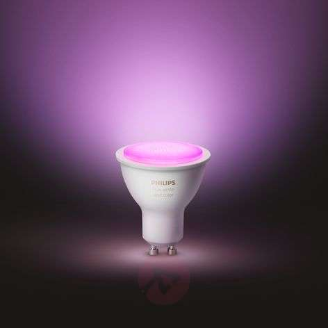 Philips Hue White & Color Ambiance 5,7W GU10, 2 st