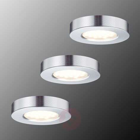 Platy LED meubel in- en opbouwlamp set van 3