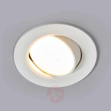 Quentin - ronde led inbouwlamp wit, 6W