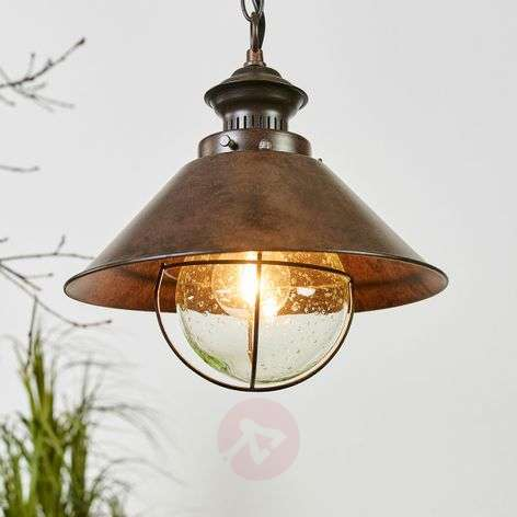 Robuuste hanglamp Nautica in industrie-look