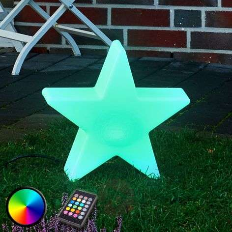 Shining Star 100 LED-buitendecoratielamp RGB 1-1004080-31