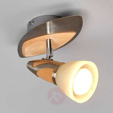 Spot Marena met houtapplicaties, E14 R50 LED-9620552-31