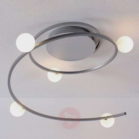 Via Bluetooth bestuurbare LED-plafondlamp Loop
