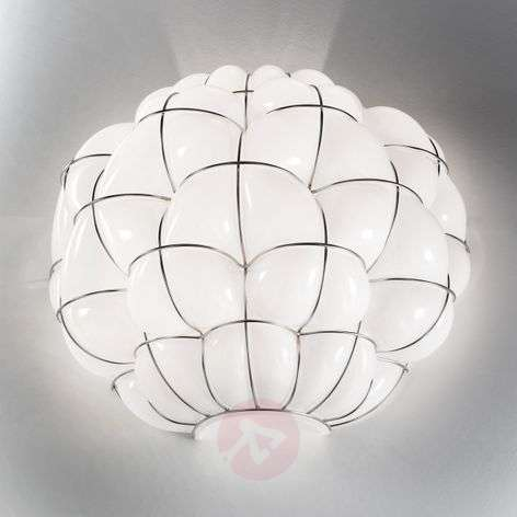 Wandlamp Pouff in wit, roestvrij staal-8581086-31