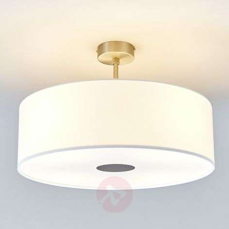 Witte LED-palfondlamp Gala - made in Germany