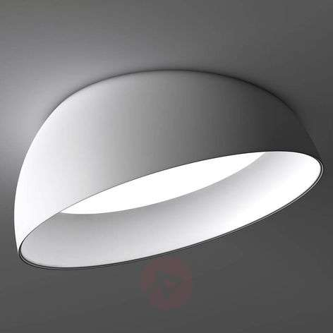 Witte LED plafond inbouwlamp Superdome