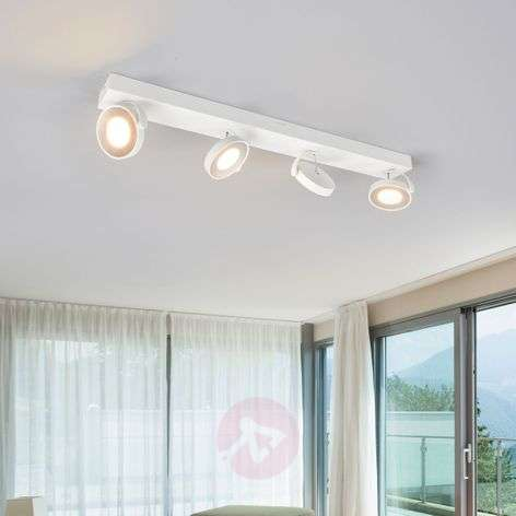 Witte LED plafondstraler Clockwork
