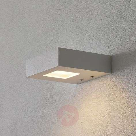 Witte LED-wandspot Cubus