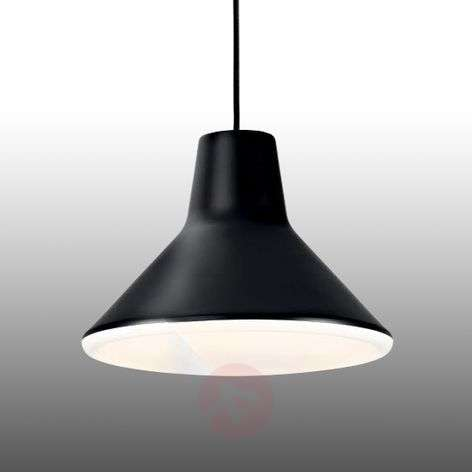 Zwarte design hanglamp Archetype, LED
