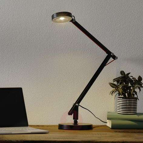 Zwarte LED multifunctionele lamp Amsterdam