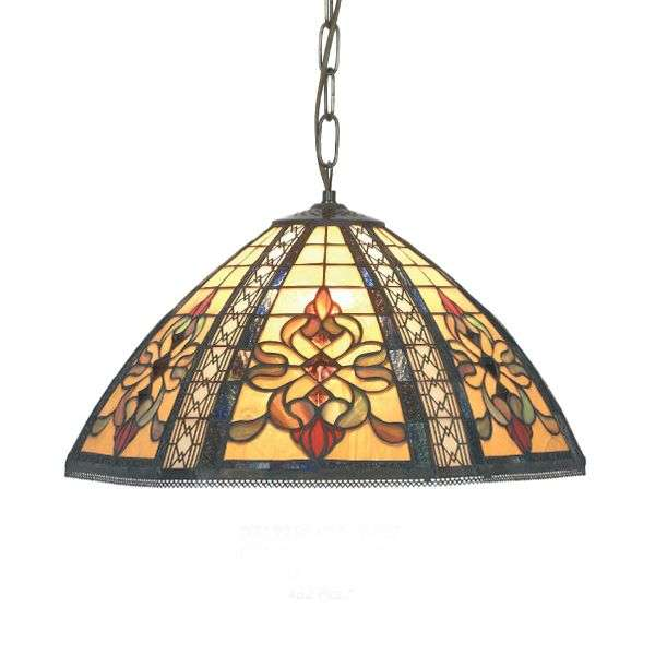 Grote hanglamp Despina in Tiffany-stijl-1032143X-31