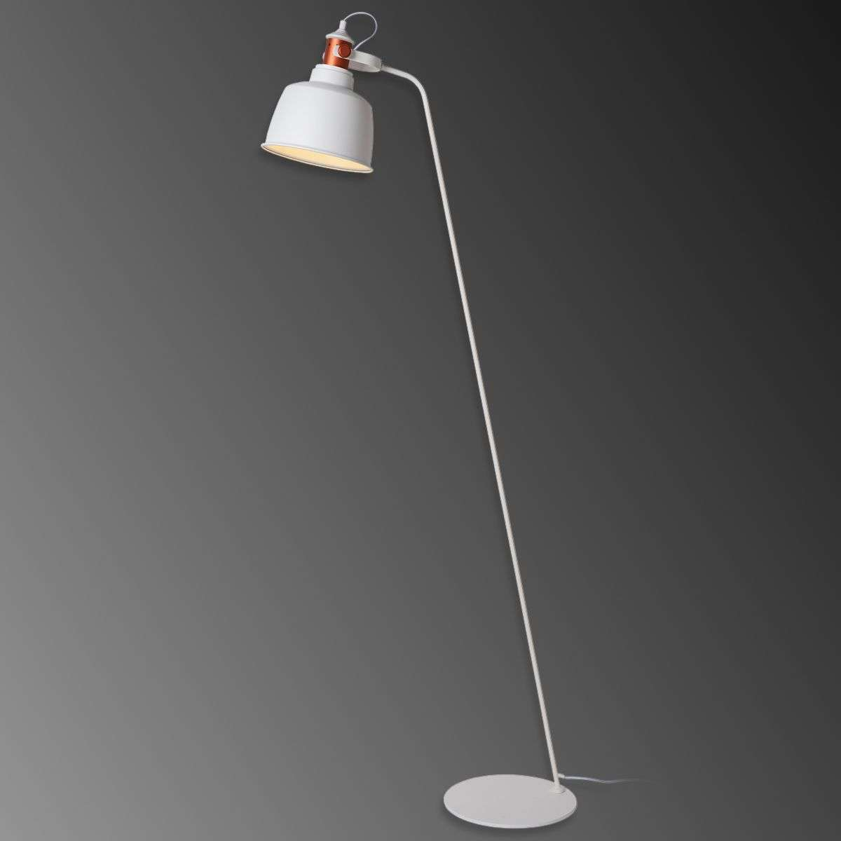 Elegant fabulous trendy staande lamp tjoll in industrieel for Staande lamp betonlook